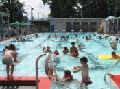 Courtenay Recreation Center, Lewis Park Pool