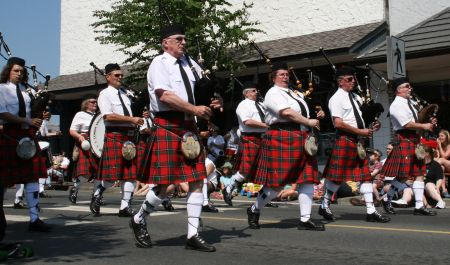 Courtenay Legion Pipe Band | Canada Day