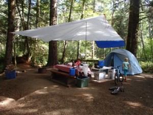 Camping at Miracle Beach