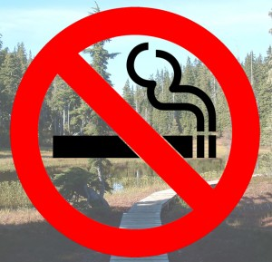 No Smoking in Comox Valley Parks