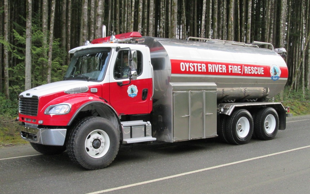 New Tanker for Oyster River FD