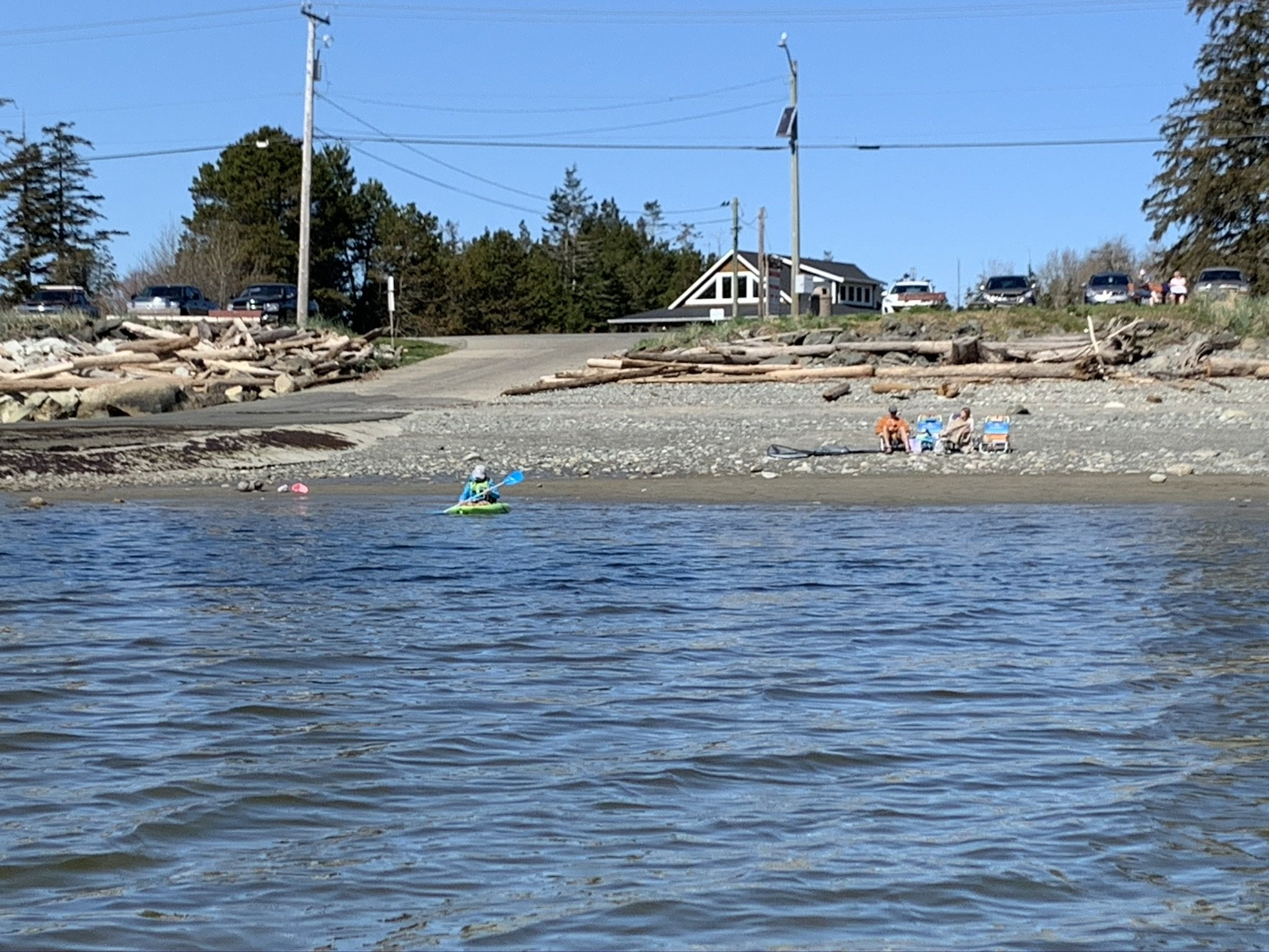 Point Holmes Beach, Comox